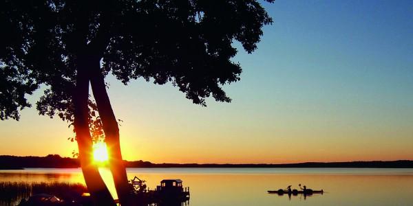 Sonnenuntergang Boot