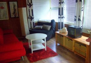 Wohnzimmer eines Bungalows